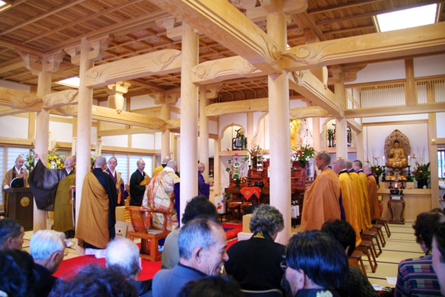 平成23年度年次大祭(第24番 開眼山 明星寺)の模様