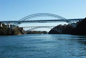 針尾瀬戸と西海橋